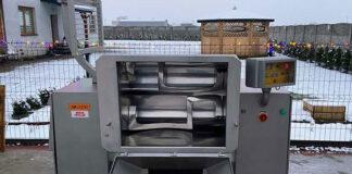New butchers machinery